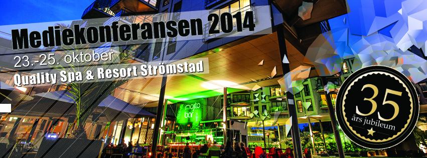 Mediekonferansen 2014 facebook bilde
